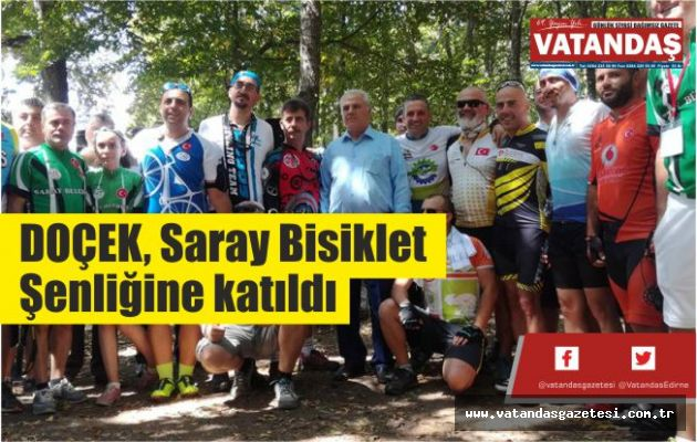 DOÇEK, Saray  Bisiklet Şenliğine  katıldı