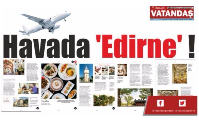 Havada 'Edirne' !