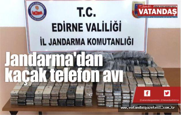 Jandarma'dan  kaçak telefon avı