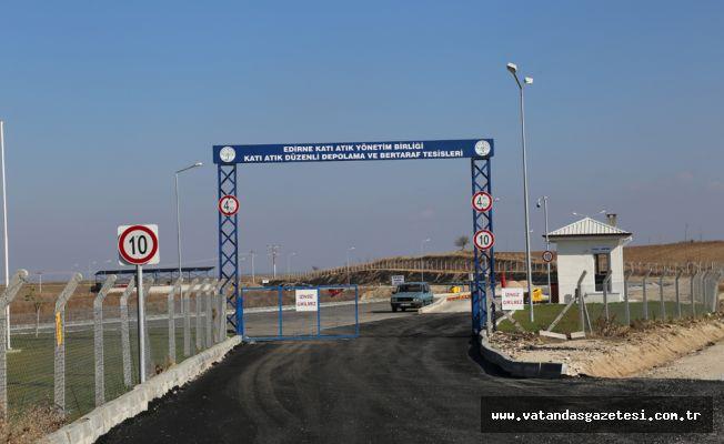 60 yıllık çöplük sorunu, sona erdi   Edirne, ilk ve tek !