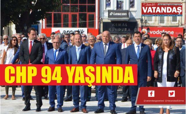 CHP 94 YAŞINDA