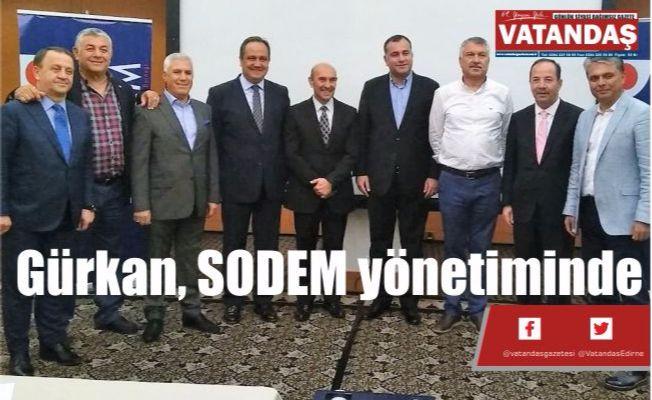 Gürkan, SODEM yönetiminde
