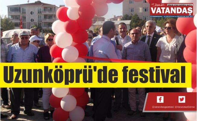 Uzunköprü'de festival