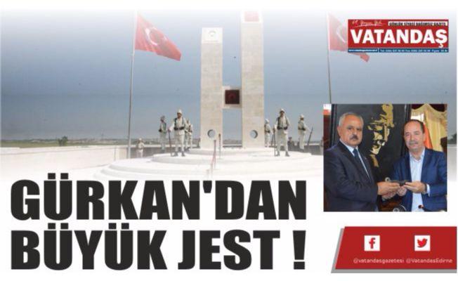GÜRKAN'DAN BÜYÜK JEST !