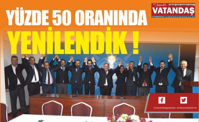 YÜZDE 50 ORANINDA YENİLENDİK !