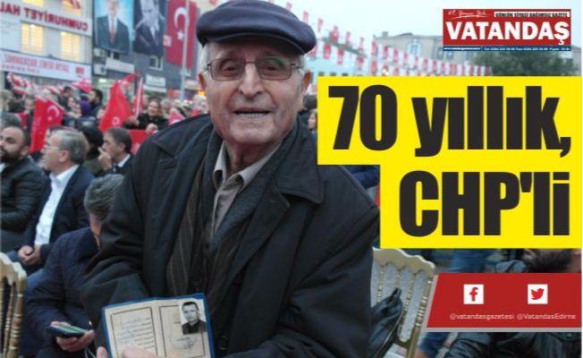 70 yıllık, CHP'li