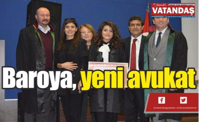 Baroya, yeni avukat