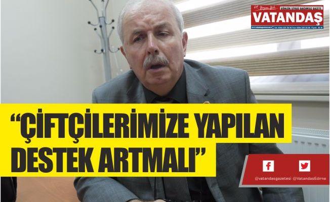 """""""ÇİFTÇİLERİMİZE YAPILAN  DESTEK ARTMALI"""""""