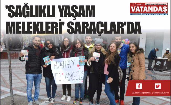 'SAĞLIKLI YAŞAM MELEKLERİ' SARAÇLAR'DA