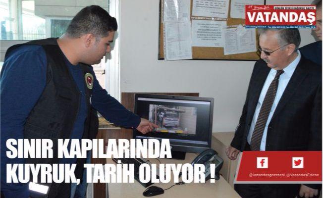 SINIR KAPILARINDA KUYRUK, TARİH OLUYOR !