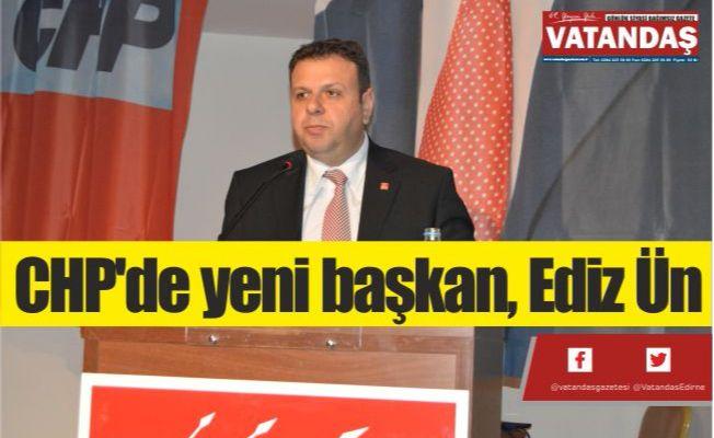 CHP'de yeni başkan, Ediz Ün