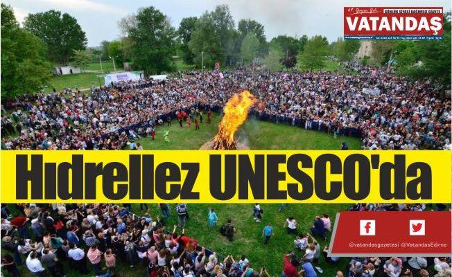 Hıdrellez UNESCO'da