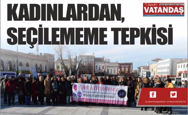 KADINLARDAN, SEÇİLEMEME TEPKİSİ