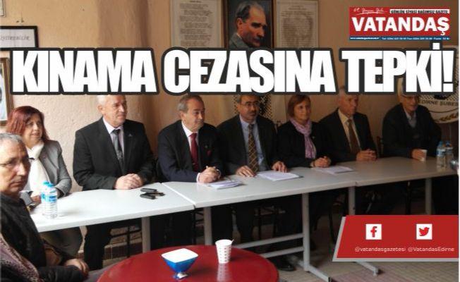 KINAMA CEZASINA TEPKİ!