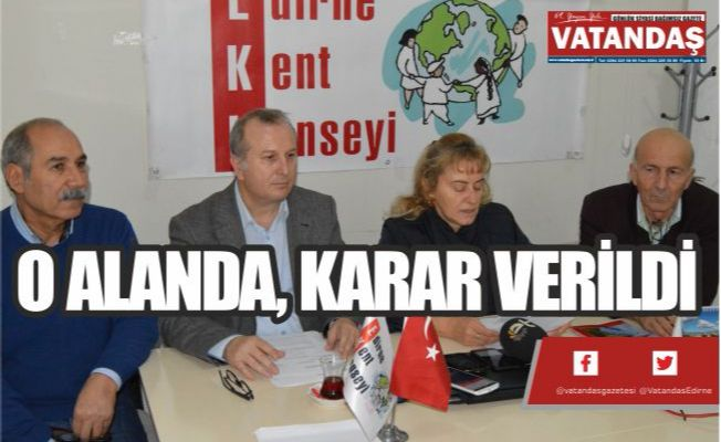 O ALANDA, KARAR VERİLDİ