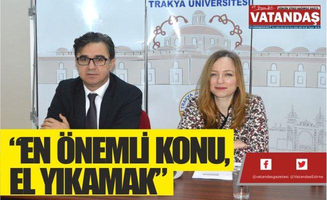 """""""EN ÖNEMLİ KONU, EL YIKAMAK"""""""
