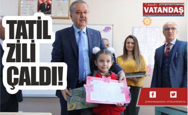 TATİL ZİLİ ÇALDI!