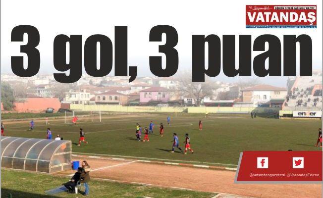 3 gol, 3 puan
