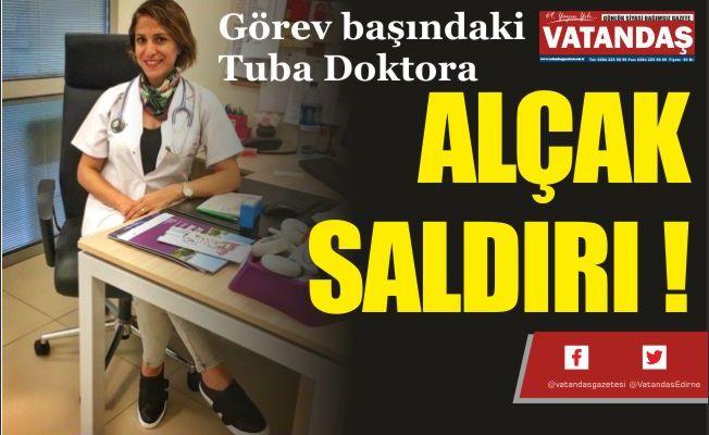 ALÇAK SALDIRI !