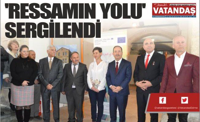 'RESSAMIN YOLU' SERGİLENDİ