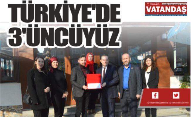 TÜRKİYE'DE 3'ÜNCÜYÜZ