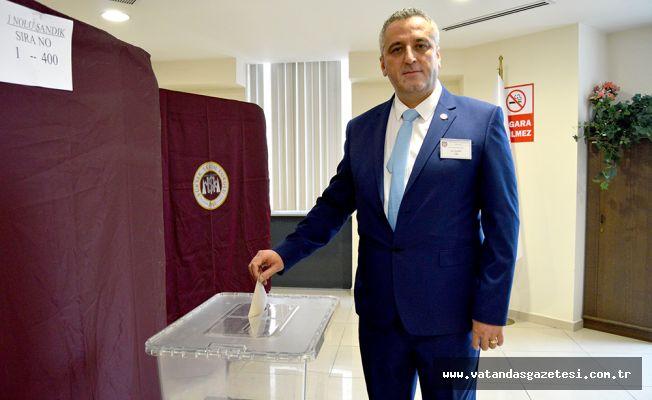 Yeni Başkan Ali Şahin