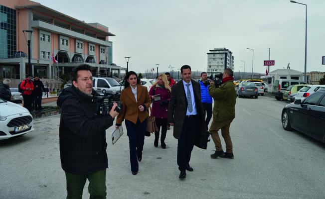 Aileleri, Edirne'ye geldi