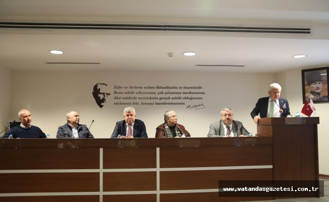 ETSO, meclisi toplandı