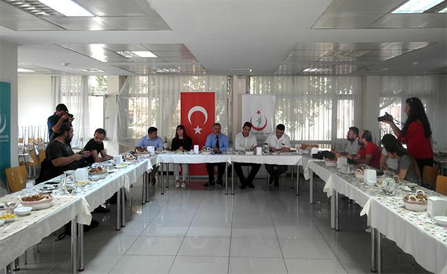 Kalkan, Basın Bayramı'nda Gazetecilerle Buluştu