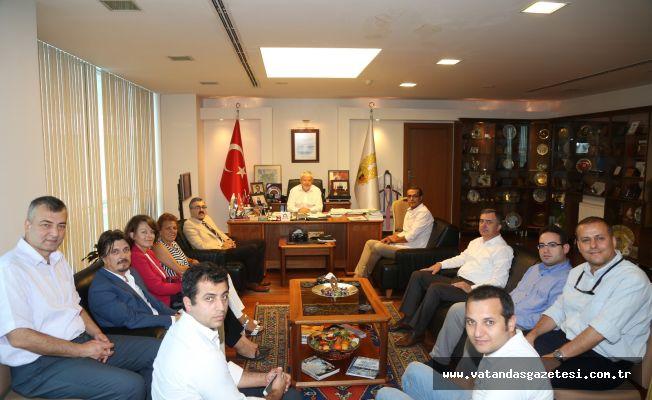 Sanayi ve Teknoloji Bakanlığı ETSO'yu ziyaret etti