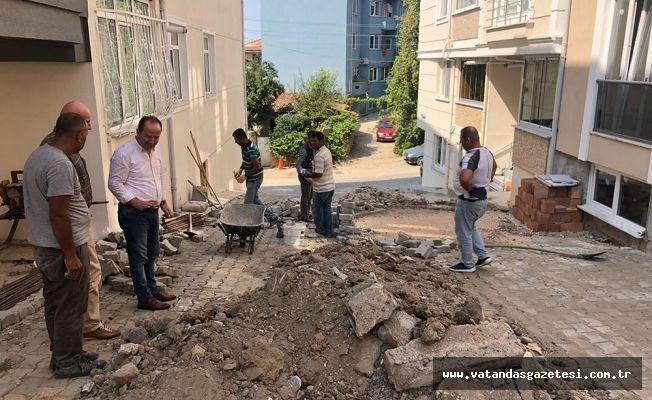 """Başkan Gürkan; """"İki alanda da çalışmalarımız sürecek"""""""