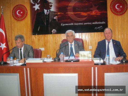 İL GENEL MECLİSİ EYLÜL AYI TOPLANTILARI BAŞLADI