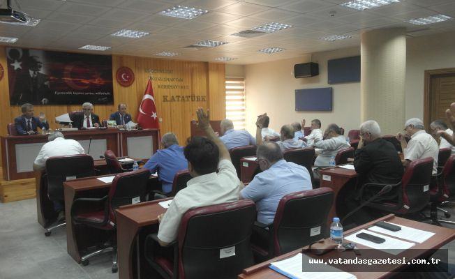 "İL GENEL MECLİSİ'NDE ""İMAR BARIŞI"""