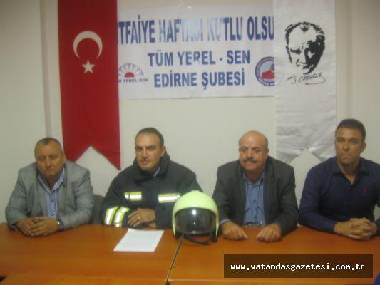 İTFAİYE HAFTASI KUTLANIYOR