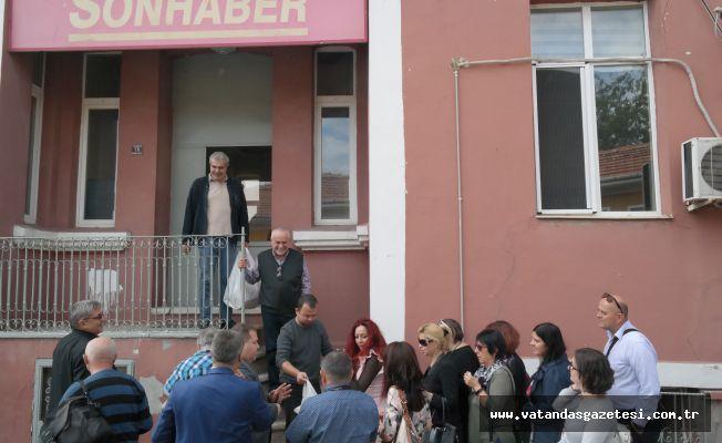 TGD'den Bulgar Basınına hediye