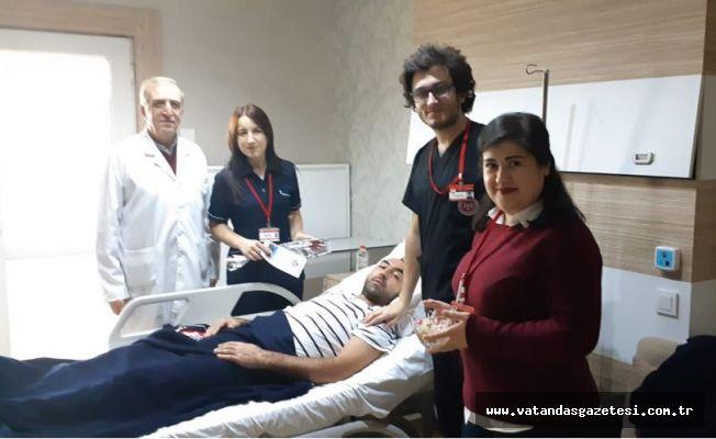 Özel Trakya Hastanesi'nde  HASTA HAKLARI GÜNÜ KUTLANDI