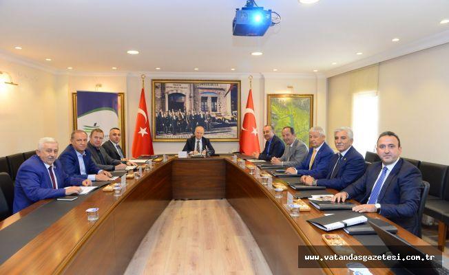Yönetim Kurulu Toplantısı Yapıldı
