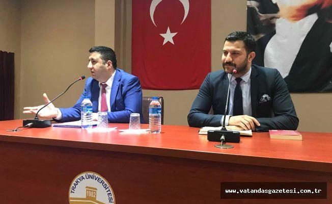 'KARİYER BASAMAKLARINI' ANLATTILAR