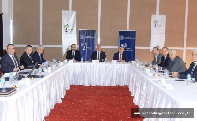 İlk Toplantı Edirne'de