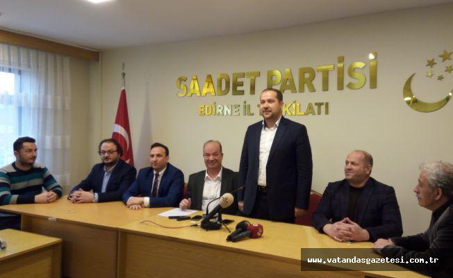 SAADET PARTİSİ ADAYINI AÇIKLADI!