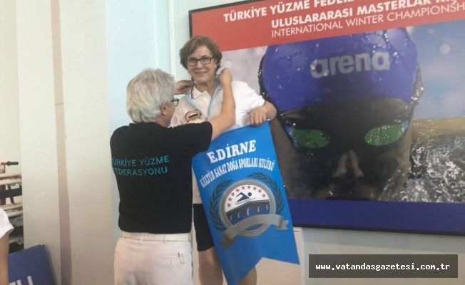 59 YAŞINDA BAŞLADI EDİRNE'NİN GURURU OLDU!