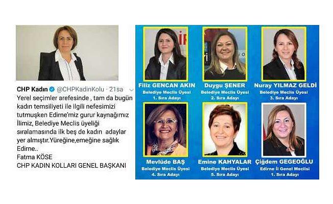 """GENEL BAŞKAN'DAN EDİRNE'YE ÖVGÜ! """"YÜREĞİNE SAĞLIK EDİRNE"""""""