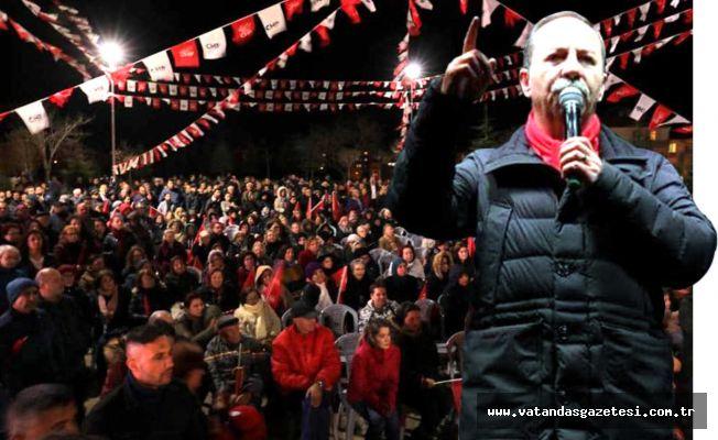 Belediye Başkanı Gürkan Net Konuştu  ABDESTİMDEN ŞÜPHEM YOK !