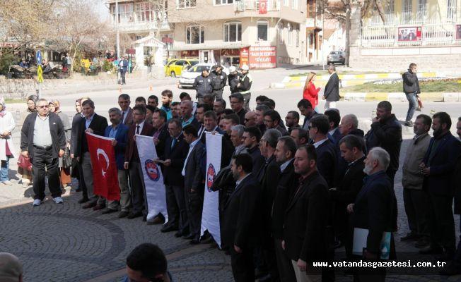 """""""EZANA TAHAMMÜLSÜZLÜK KABUL EDİLEMEZ!"""""""