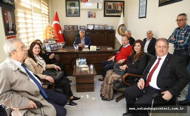 GÜRKAN'DAN ESNAF ODASI ZİYARETİ