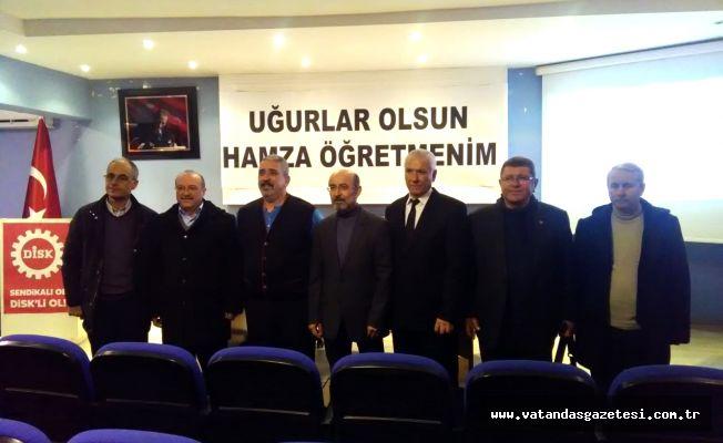 HAMZA GÜVEN'İ ANMA TOPLANTISI DÜZENLENDİ