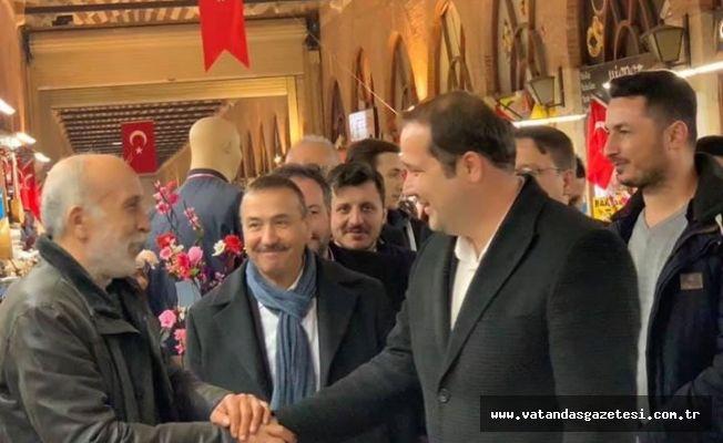 """Mansur İriş; """"HALKIMIZ DEĞİŞİM İSTİYOR"""""""