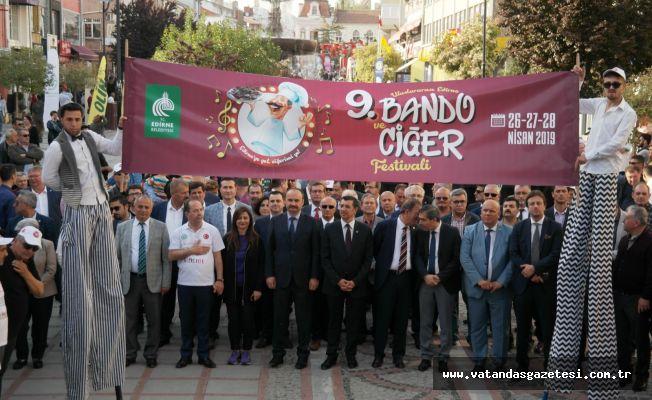 BANDO VE CİĞER FESTİVALİ MUHTEŞEM BAŞLADI