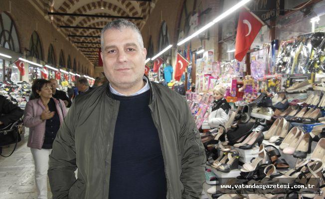 """""""ESNAFIN ÖN PLANDA TUTULMASINI İSTİYORUZ"""""""