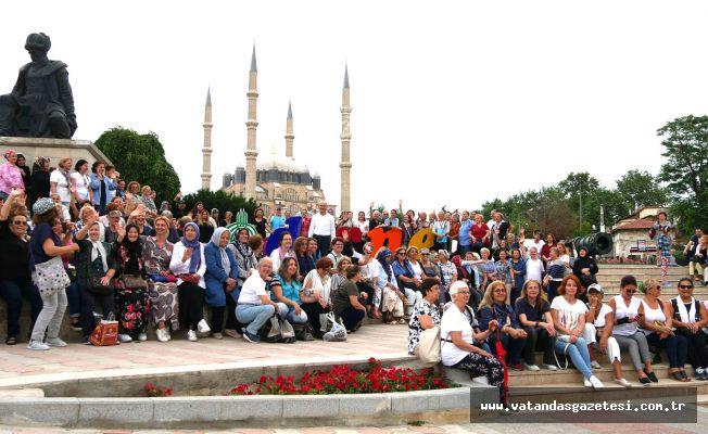 34'ÜNCÜ KEZ EDİRNE'YE GELİYORLAR